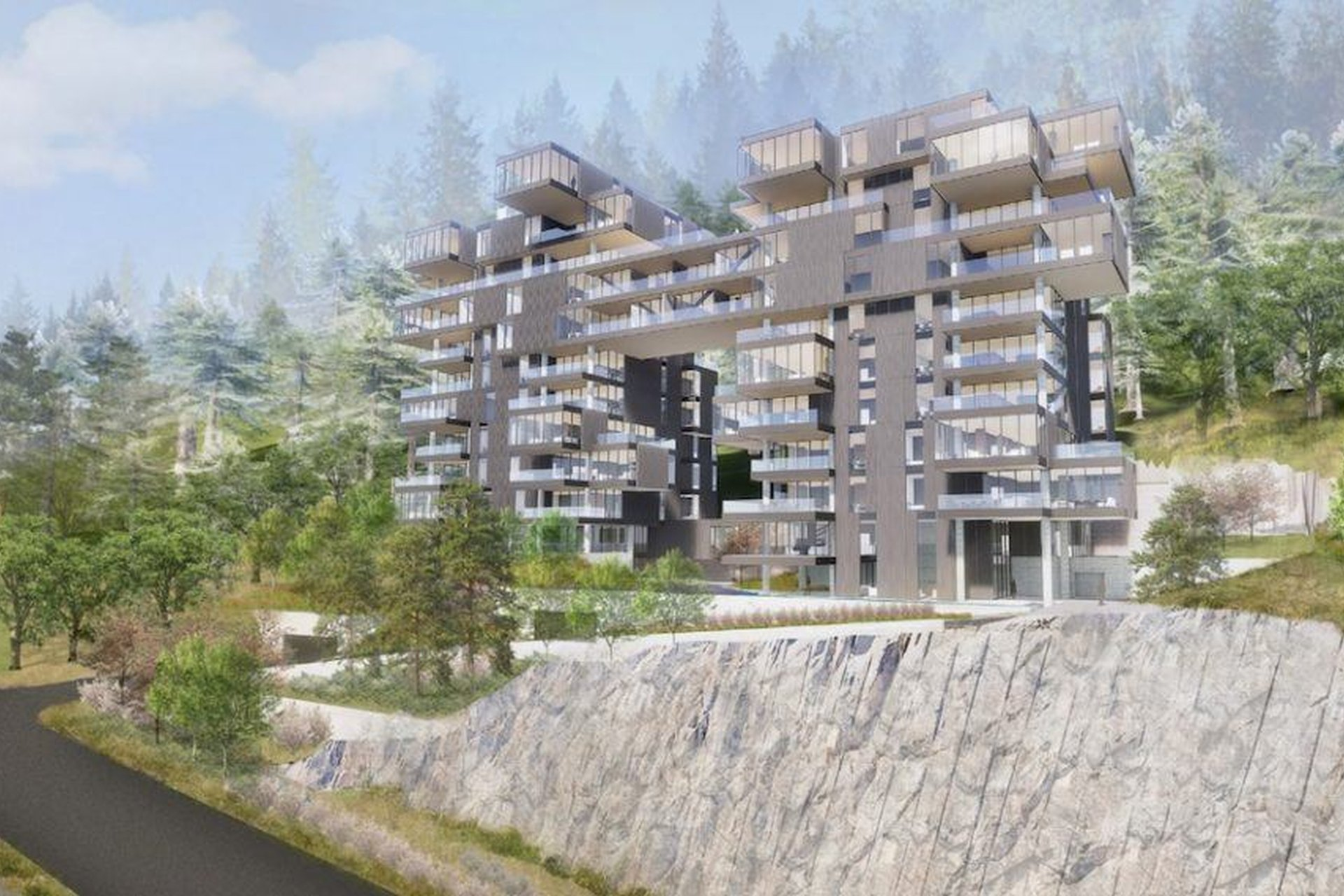 Treehouse - West Vancouver | Proposed New Development