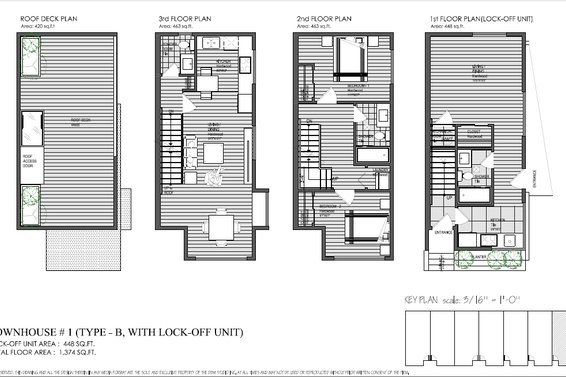 Synergy Lower Lonsdale - Floorplans