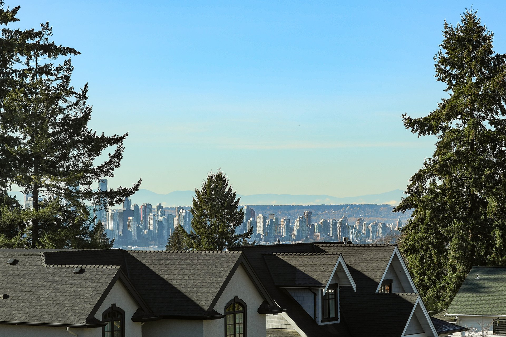 View from Master Ensuite - 528 East 11th Street, North Vancouver