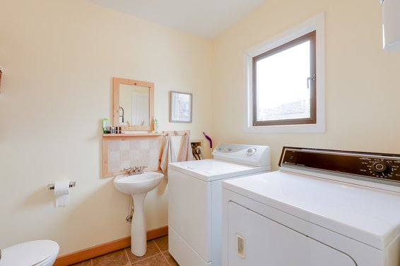 Powder/laundry Room - 1357 Moody Avenue, North Vancouver