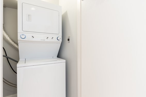 In-suite laundry room - 307-360 East 2nd Street, North Vancouver