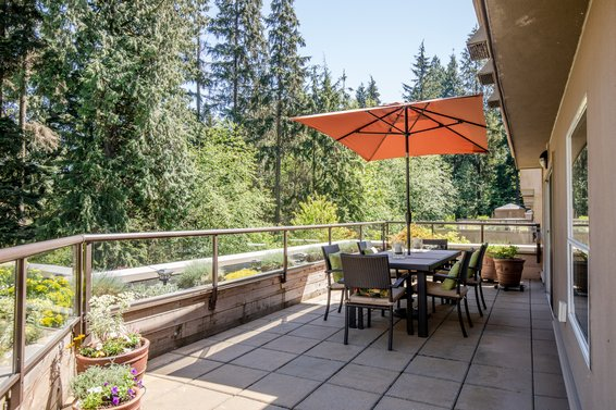 304-1500 Ostler Court, North Vancouver -  patio