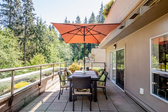 304-1500 Ostler Court, North Vancouver -  patio 2