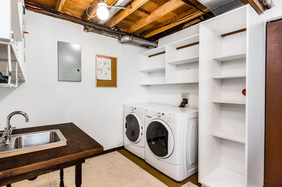 Laundry room - 236 East 4th Street, North Vancouver