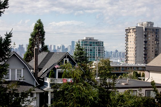 Top floor city view - 236 East 4th Street, North Vancouver