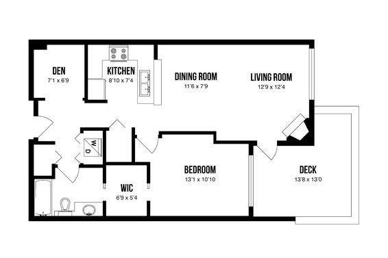 Floorplan - 203-3151 Connaught Crescent, North Vancouver