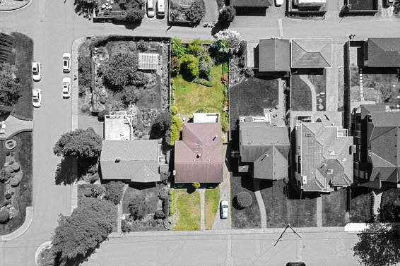 Lot overview - 459 East 16th Street, North Vancouver