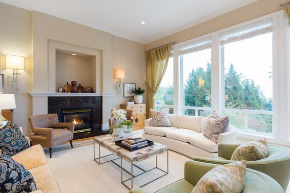 Living Room - 998 Dempsey Road, North Vancouver