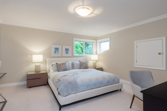 Bedroom Upper Level - 998 Dempsey Road, North Vancouver