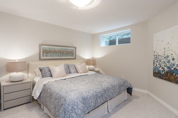 Bedroom Lower Level - 998 Dempsey Road, North Vancouver