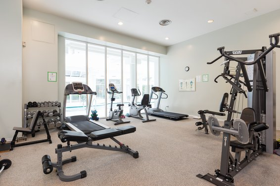 Weight room - 904-1327 East Keith Road, North Vancouver
