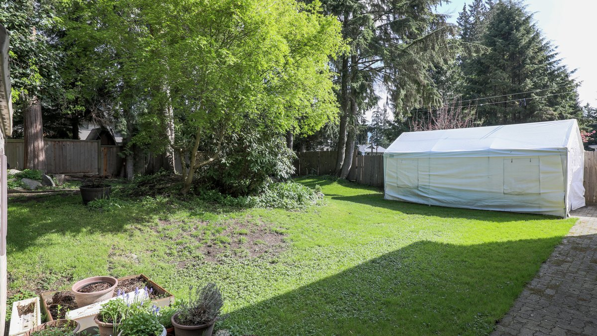 Backyard - 926 East 29th Street, North Vancouver
