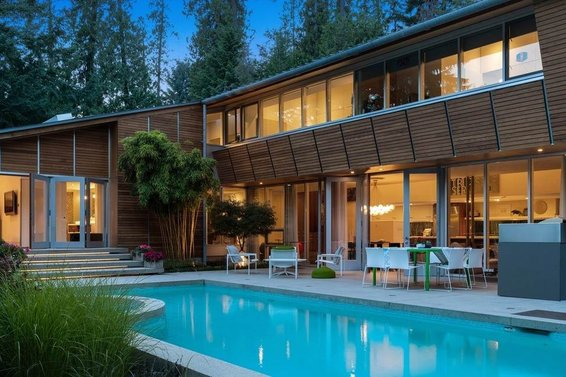 7 North & West Vancouver Modern Architectural Homes For Sale