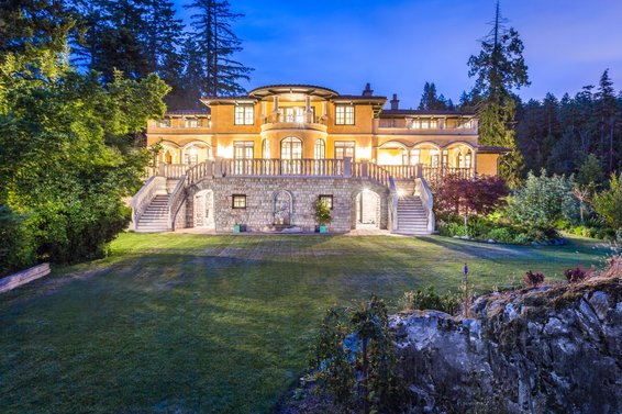 At 13,128 sq/ft this was the largest house for sale on the North Shore!
