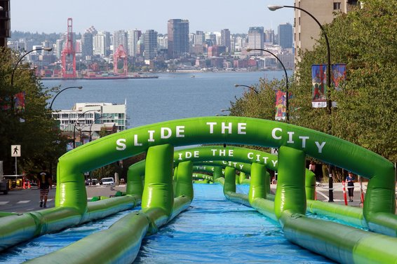 Slide the City {Cancelled}
