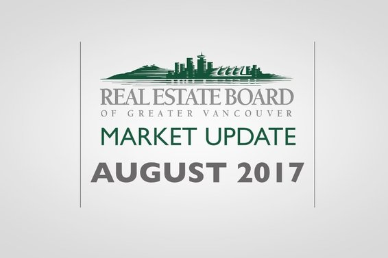 REBGV August Real Estate stats Video
