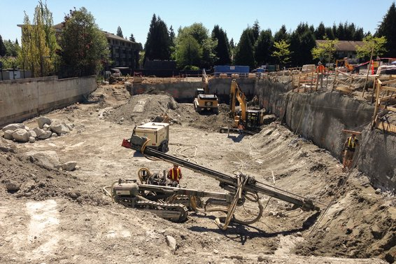 The Residences at Lynn Valley - Site Prep
