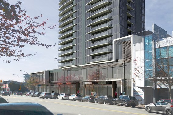 Hollyburn Properties | Proposed new mixed use tower
