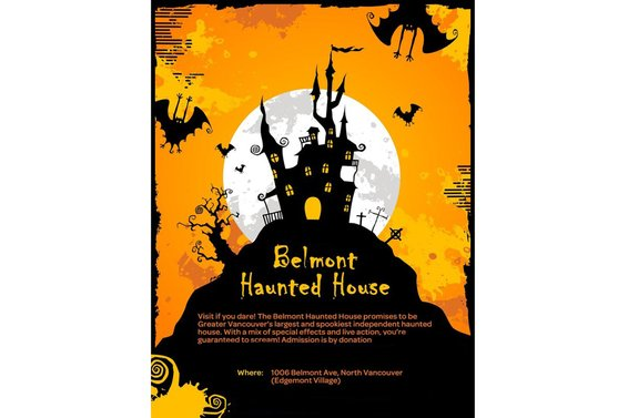 The Belmont Haunted House Returns!