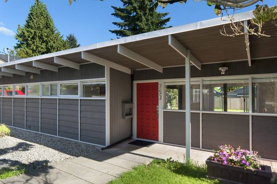 FREE mid-century modern house. . . [land not included]