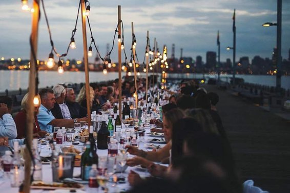 Dinner on the Pier | August 10th 2017