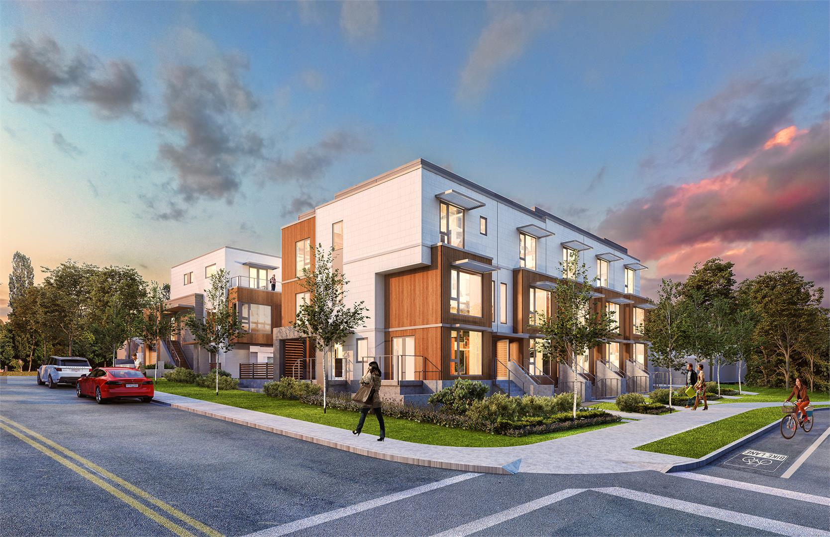 Evolv Moodyville North Vancouver Townhomes