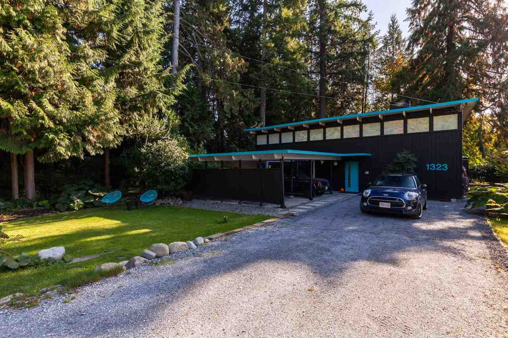 north vancouver mid century modern house for sale