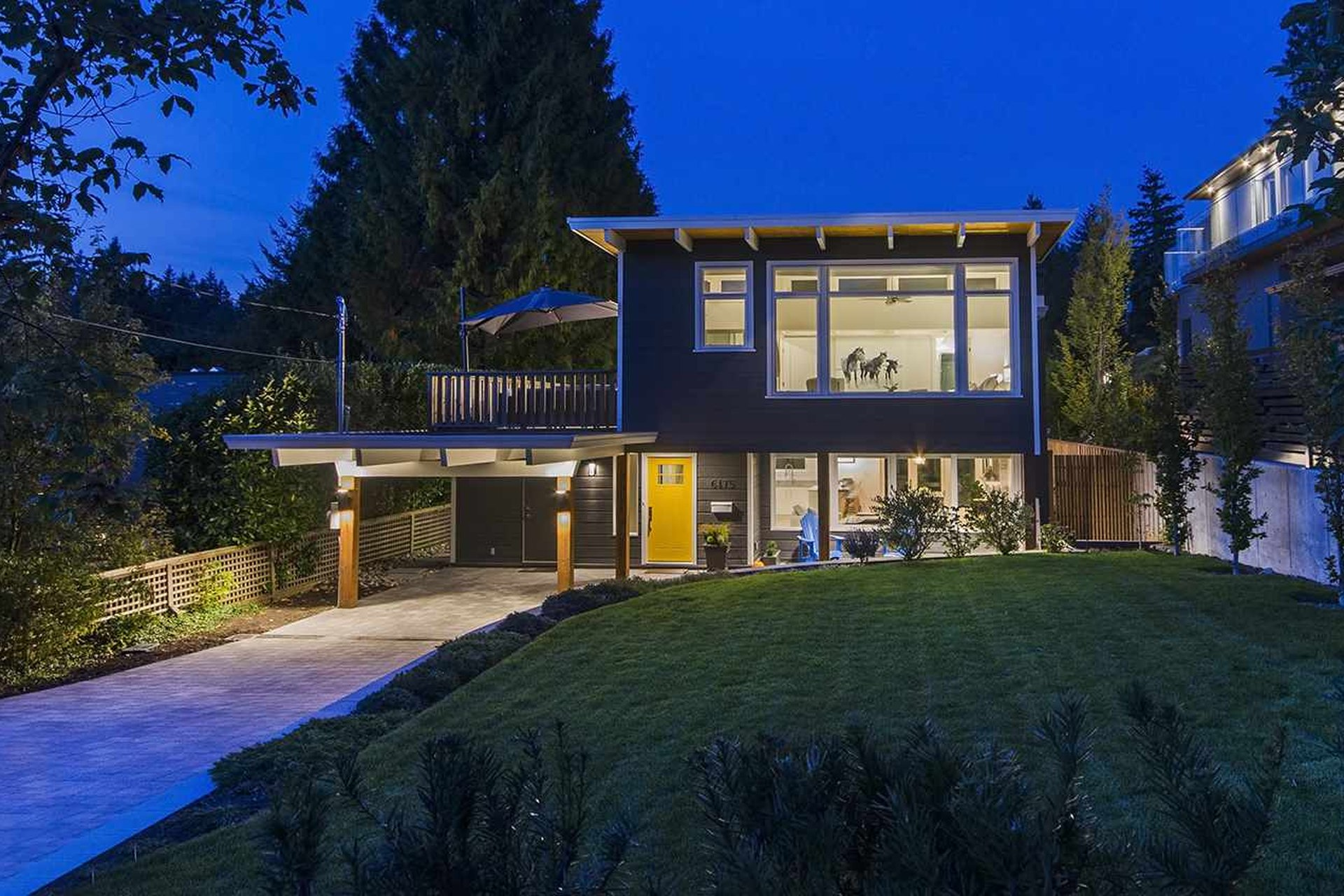 west vancouver mid century modern house for sale