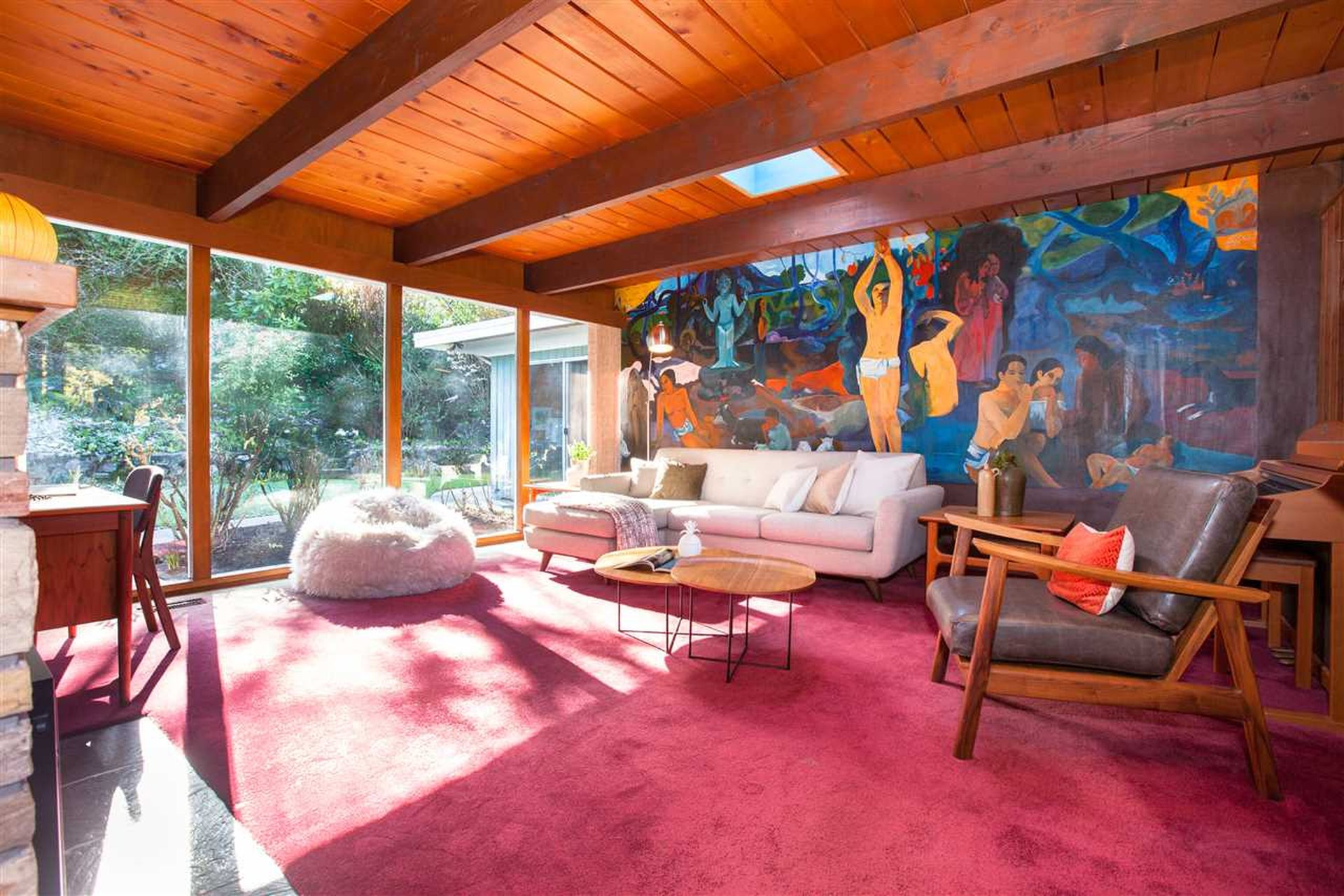 mid  century modern house for sale in west vancouver